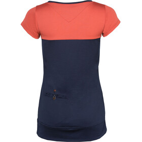 Triple2 TUUR T-shirt Femme, mineral red